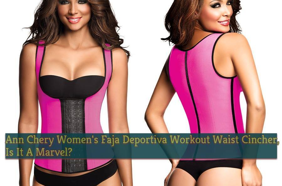 4fae8ccd2 Ann Chery Women s Faja Deportiva Workout Waist Cincher Review