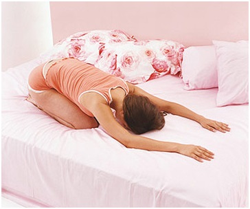 five yoga poses for a better sleep  fitness equipment