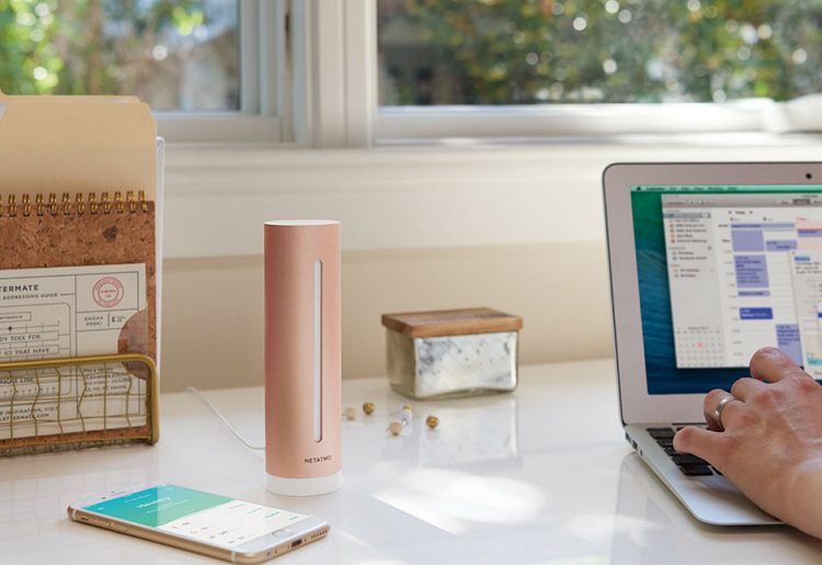 Netatmo Healthy Home Coach measures precisely what matters