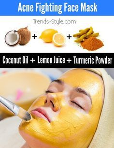 3. Turmeric Face Mask to Prevent Acne