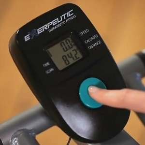 Exerpeutic Aero Air Elliptical Screen